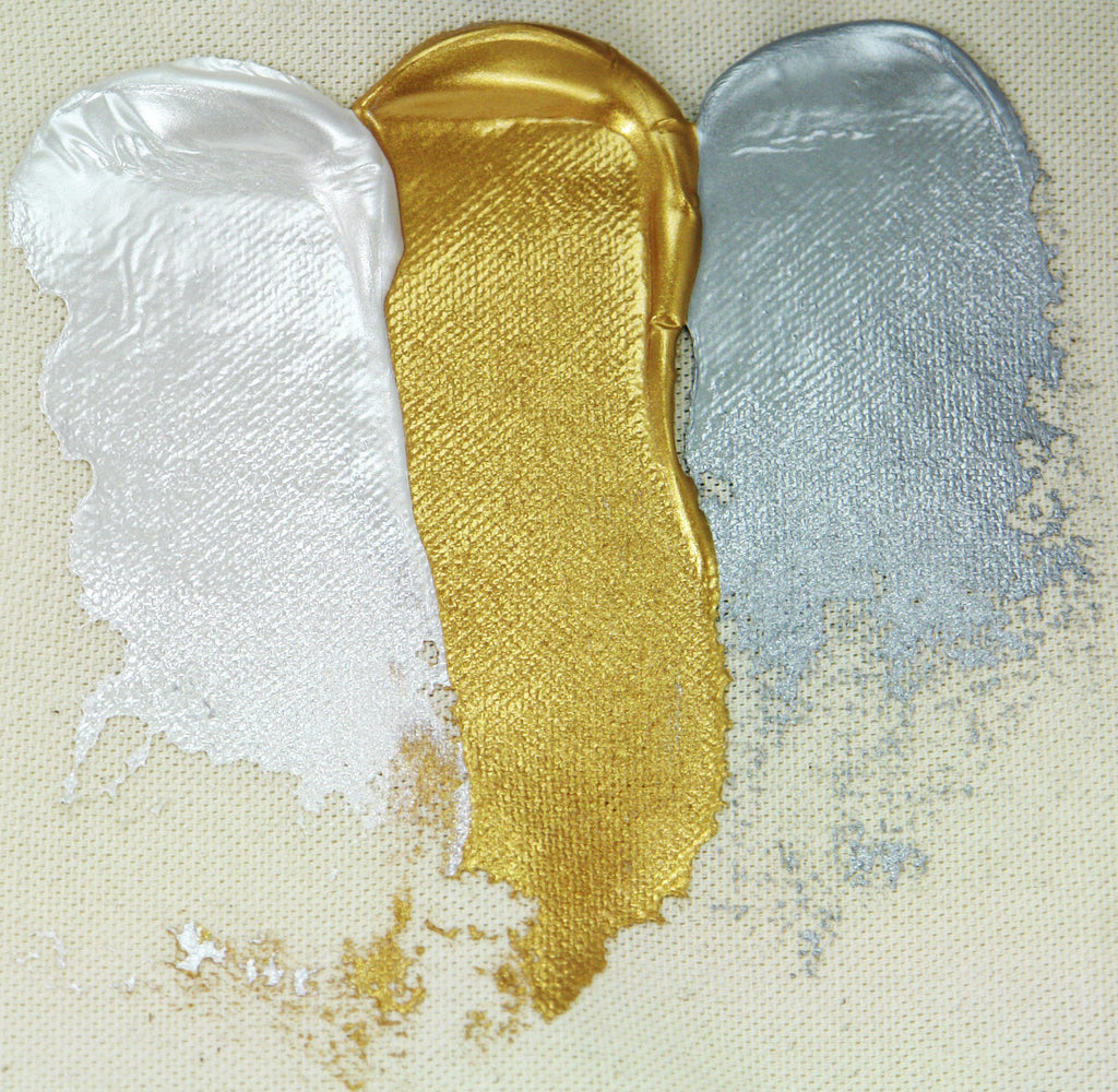 Golden Heavy Body Iridescent & Interference Colours
