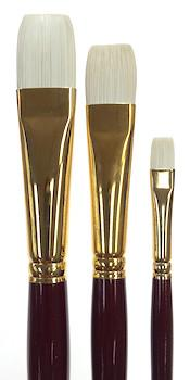 Connoisseur Pure Synthetic Bristle Brushes