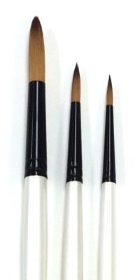 Simply Simmons Long Handled Taklon Brushes