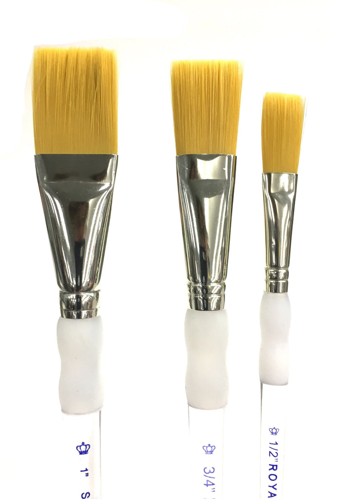 Soft Grip Taklon Brushes