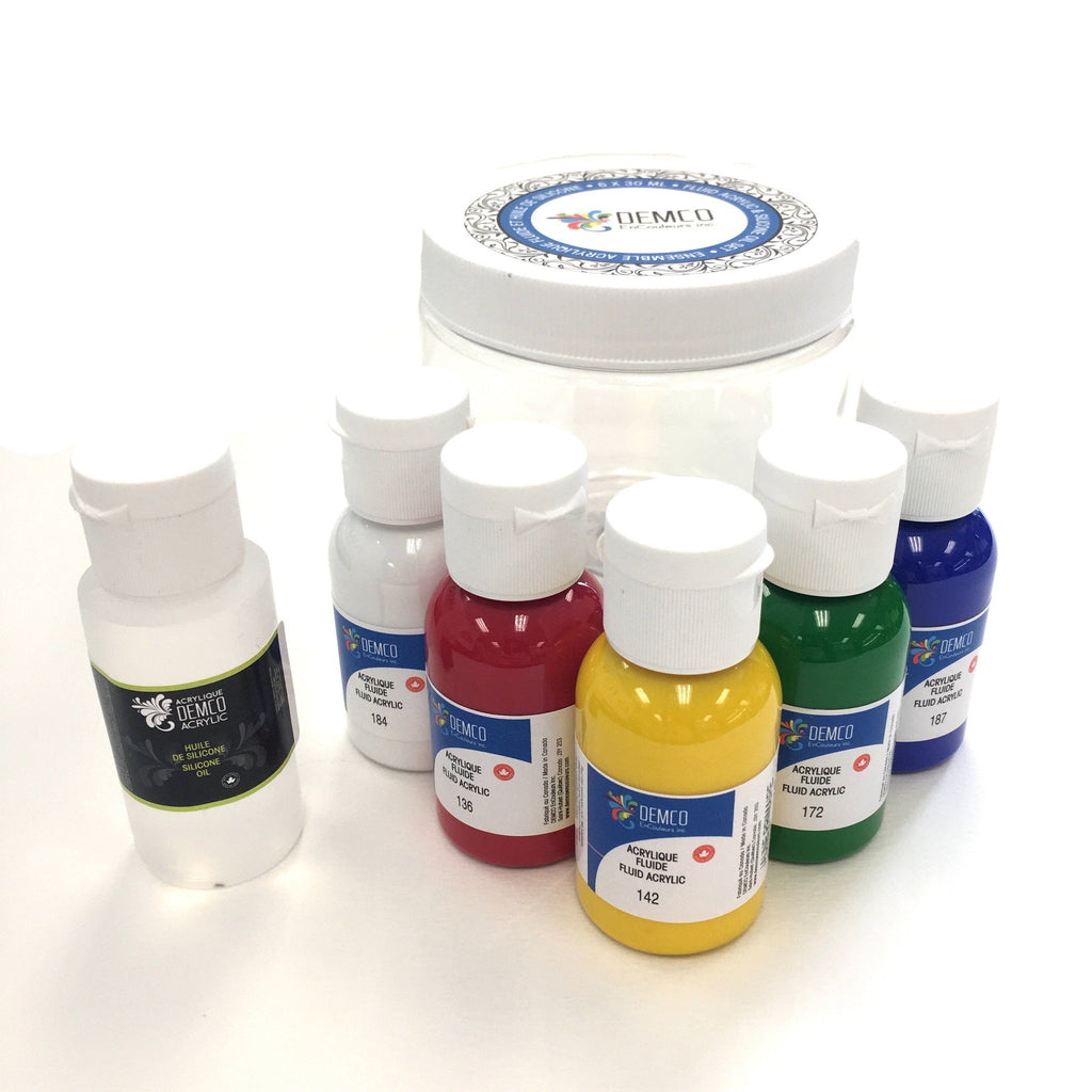 Acrylic Pouring Starter Set