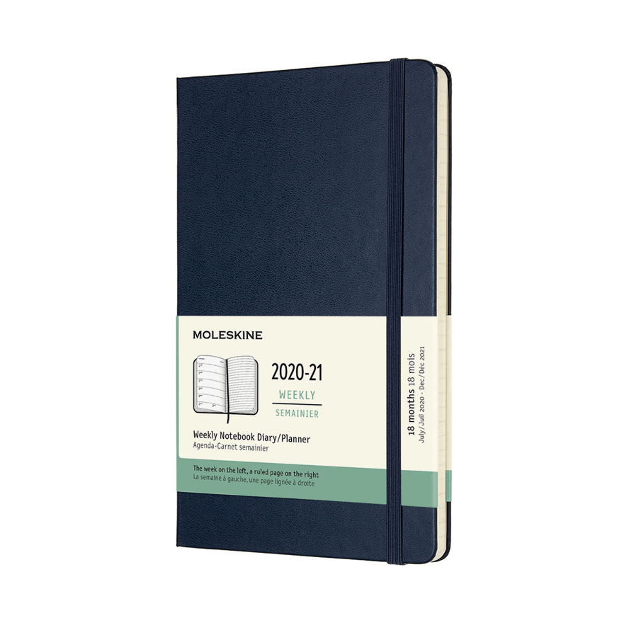 Moleskine 18-Month Weekly Planners - Hard Cover