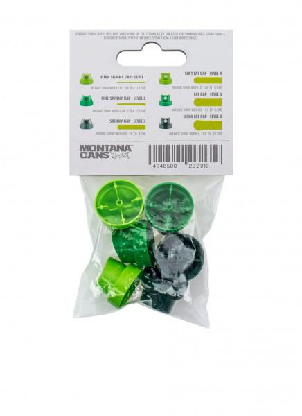 Montana Gold Spray Cap 6-Set Green Level