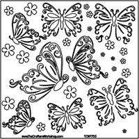 "6"" Crafter's Workshop Stencils"