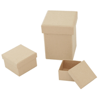 Pulp Papier Mache Boxes & Shapes