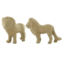 Pulp Papier Mache Animals - Small