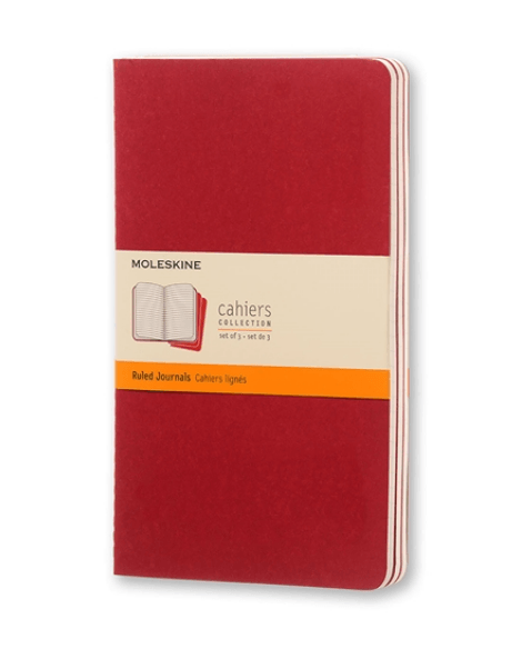 Moleskine Ruled Cahiers