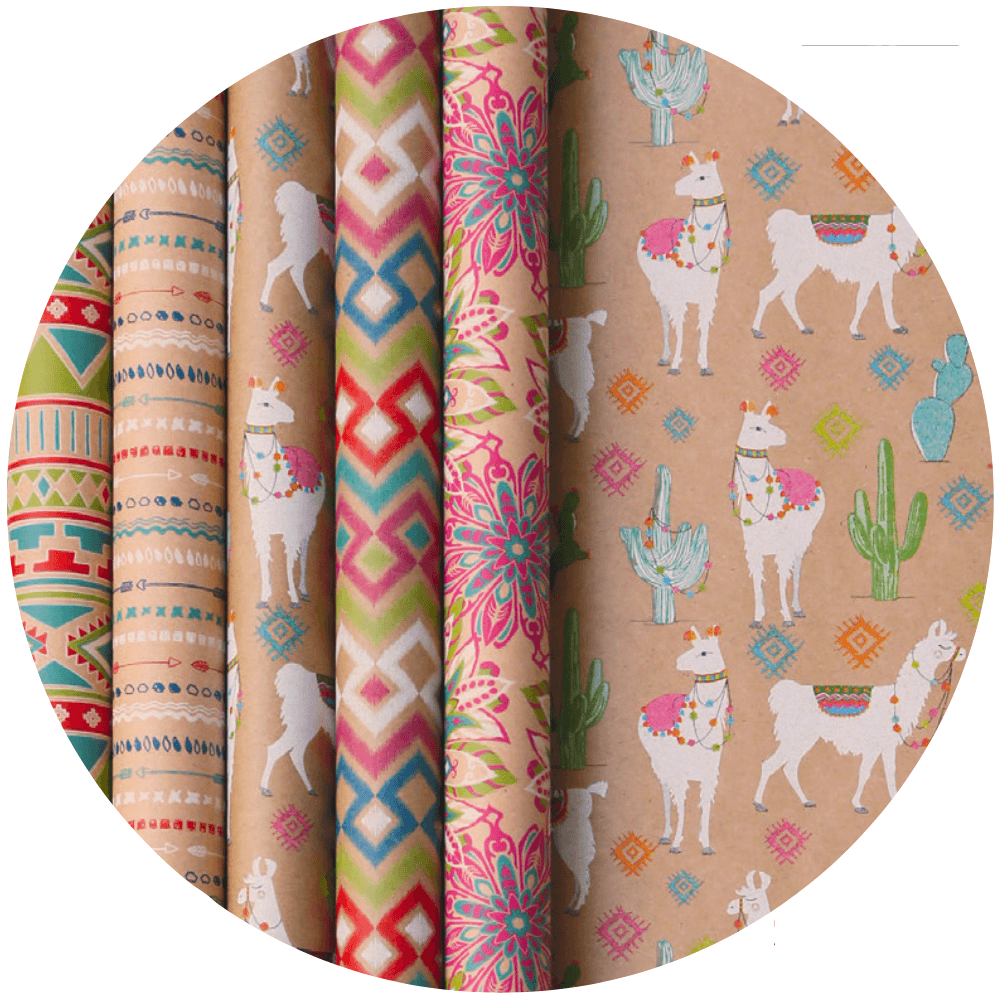 Recycled Gift Wrap Rolls
