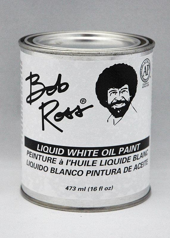 Bob Ross Liquid White Oil Paint