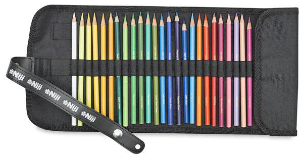 NIji Roll 36-Slot Pen and Pencil Roll-Up