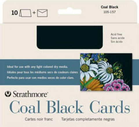 Strathmore Coal Black Cards