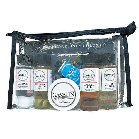 Gamblin Artist Colors Oil Painting Medium Set of 6