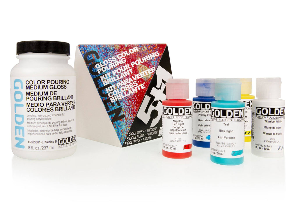 Colour Pouring Kits