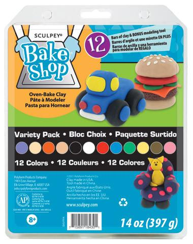 Sculpey Bakeshop Variety Pack