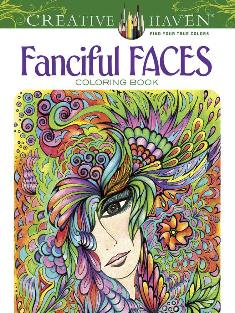 Creative Haven Fanciful Faces
