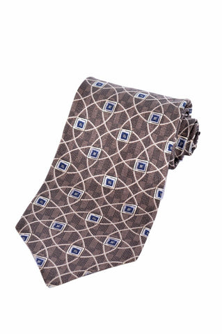 A. Courreges Homme Mens 100% Italian Silk Dress Accessory Neck Tie