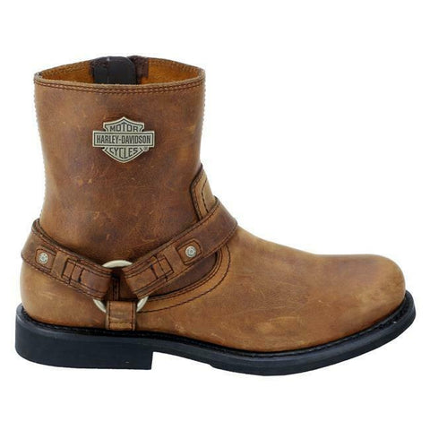 $154 NEW NIB Harley Davidson Scout Mens Brown Leather Motorcycle Footwear Boots