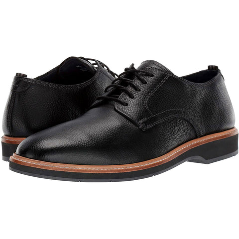 $200 Cole Haan Morris Grand OS Black Leather Oxford Dress Footwear Shoes