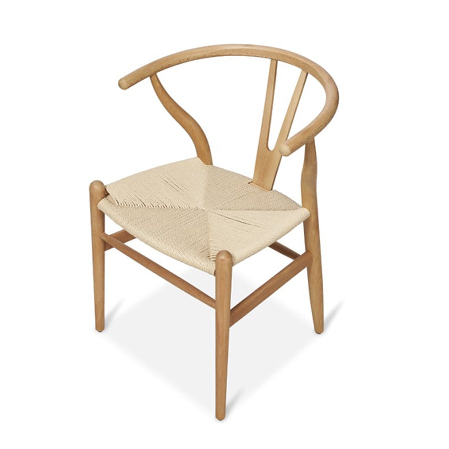 Groovy Wishbone Beechwood Dining Chair Natural Pabps2019 Chair Design Images Pabps2019Com