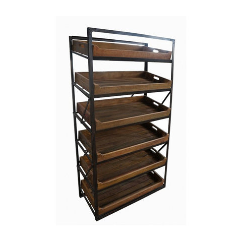 Bakers Trolley 100x45x180