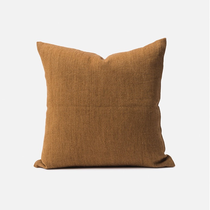 Citta Heavy Linen Jute Cushion Masala