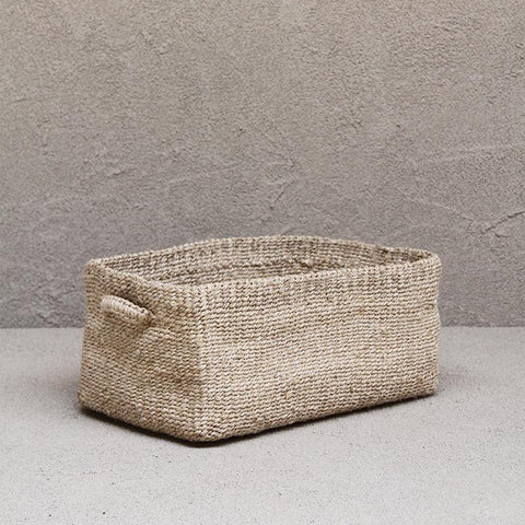 Dharma Door Sona Rectangle Basket Natural