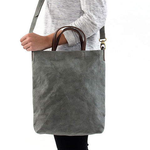 Uashmama Shoulder Tote Dark Grey