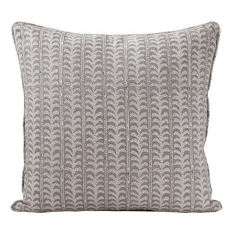 Luxor Cushion Mud 50x50cm