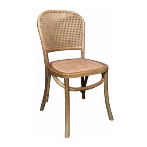 Bahamas Oak Chair & Rattan Chair