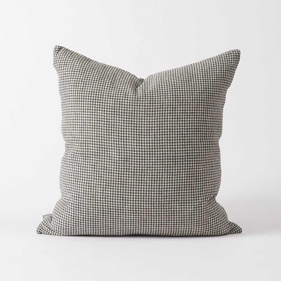 Citta Bonnie Woven Cushion Pepper/Natural 55x55cm