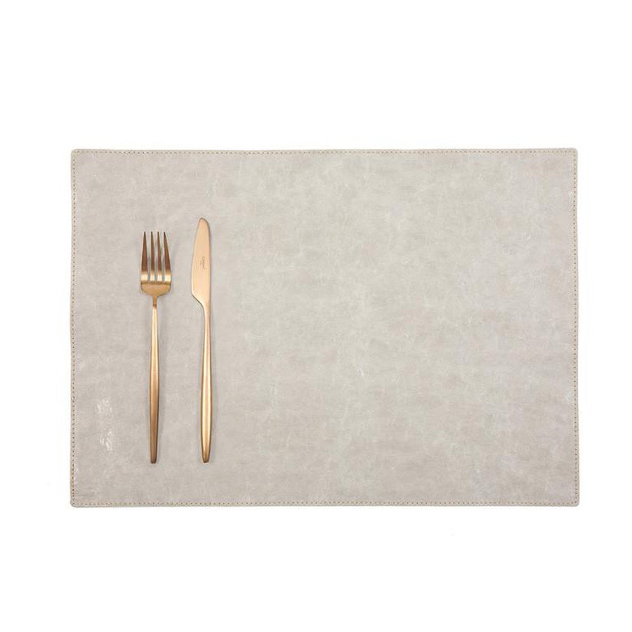 Uashmama Paper Luxe Placemat Grey
