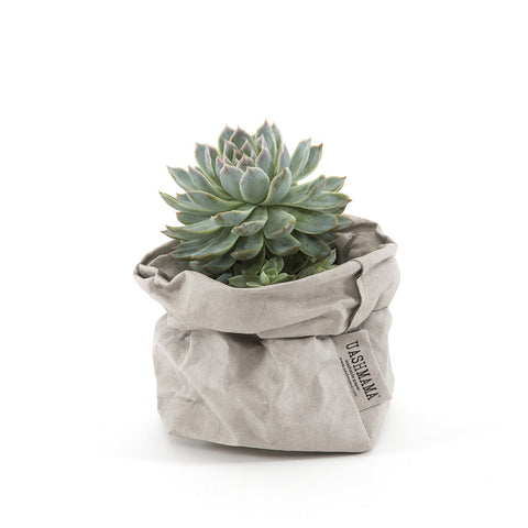 Uashmama Paper Bag Pale Grey