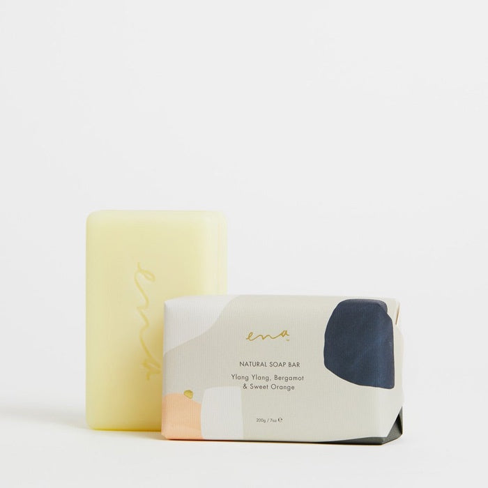 Ena Soap Bar 200gm Ylang Ylang, Bergamot & Sweet Orange
