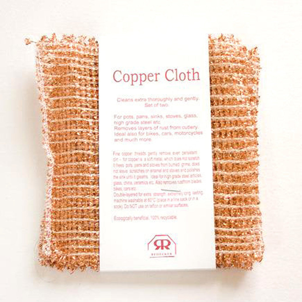 Redecker Copper Cloth - Set of two