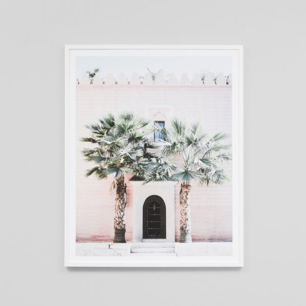 Moroccan Entrance Art Print