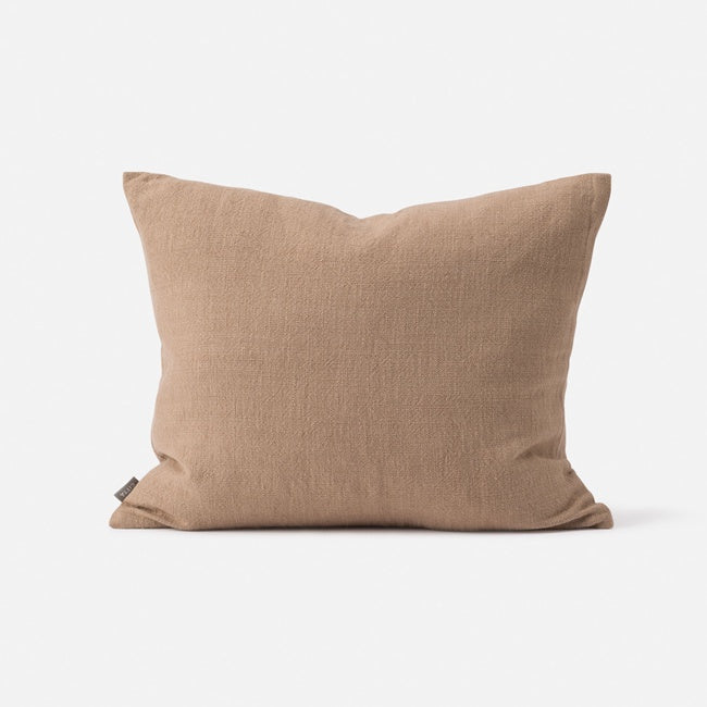 Citta Handwoven Cushion Walnut