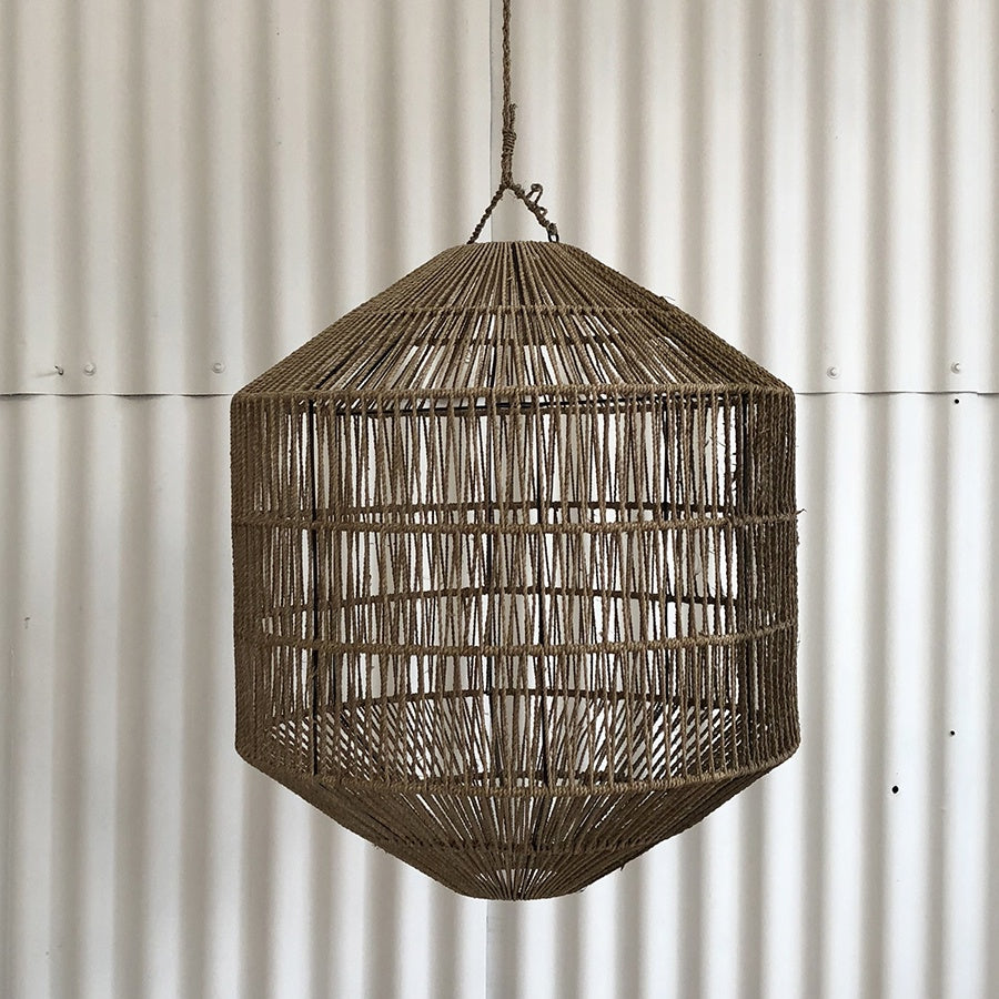 Inartisaon Azin Jute Octagonal Light Shade Natural