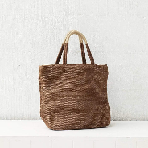 Dharma Door Jute Tantu Shopper - Earth