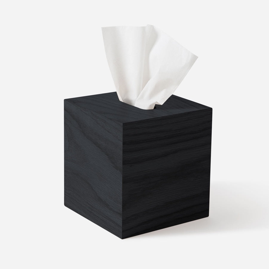 Citta Oku Tissue Box Black