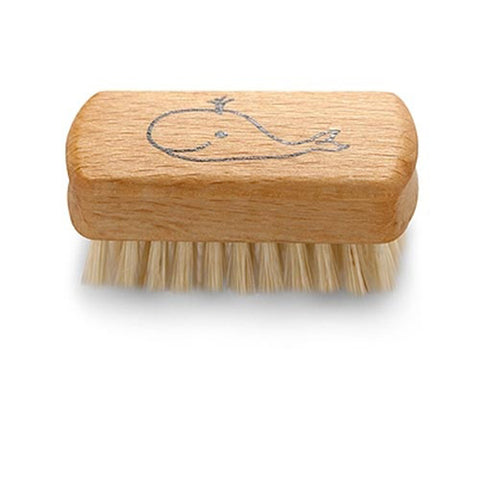 Redecker Small Whale Nail Brush for Kids