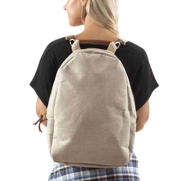 Uashmama Backpack Pale Grey