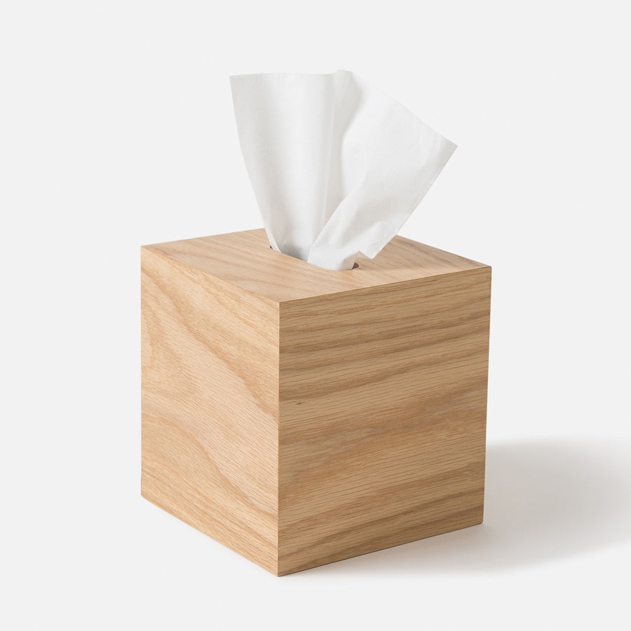 Citta Oku Tissue Box Natural 14cm x 14cm x 15cm