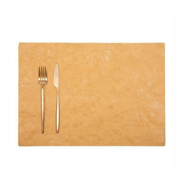 Uashmama Paper Luxe Placemat Camel