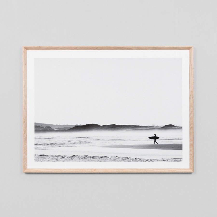 Morning Surf Art Print 115cm x 86cm