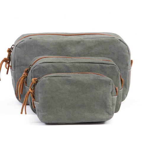 Uashmama Wash Bag Dark Grey