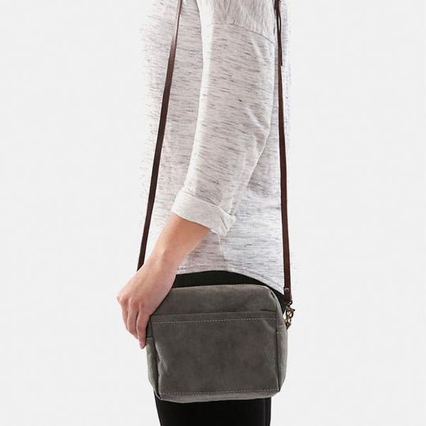 Uashmama Shoulder Pochette Dark Grey