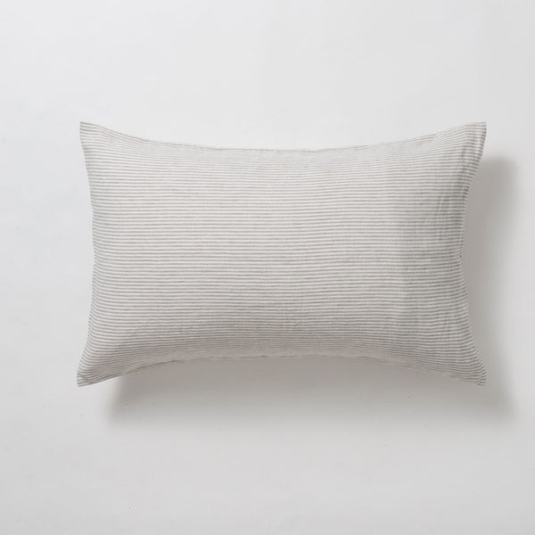 Citta Sove Stripe Linen Pillow Case Pair