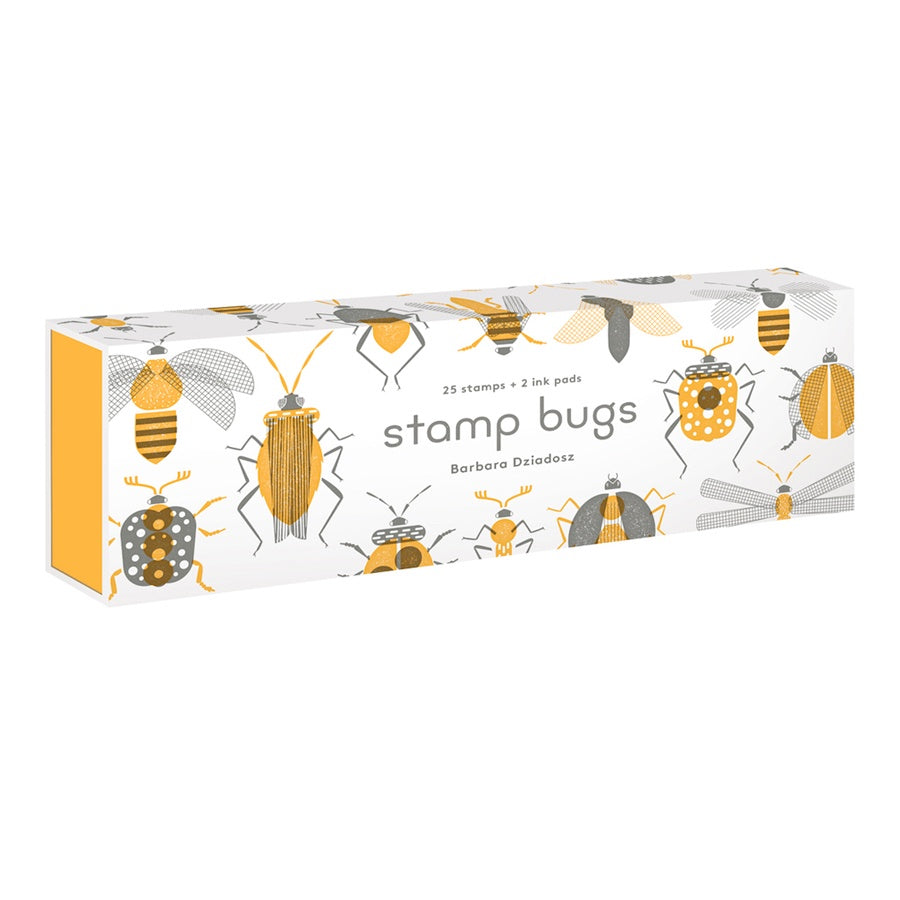 Stamp Bugs by Barbara Dziadosa