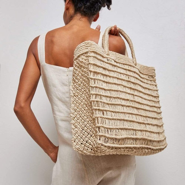 Dharma Door Jute Laina Shopper Natural