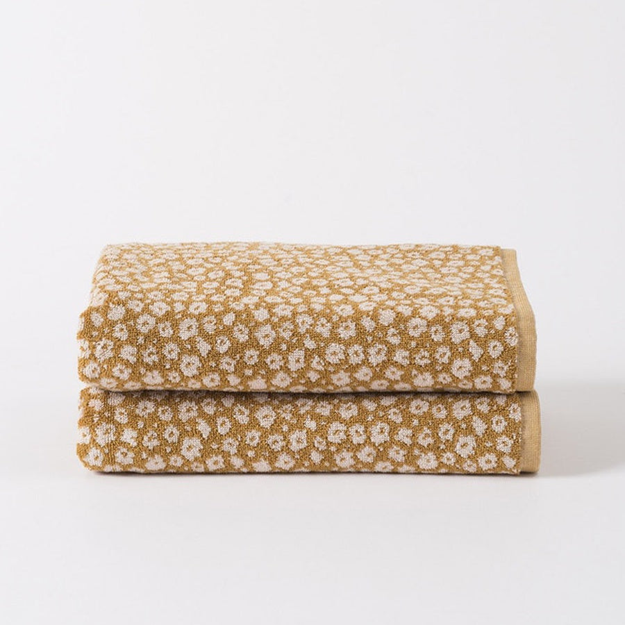Citta Forget Me Not Terry Towels Citron
